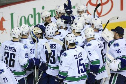 Les Canucks de Vancouver participeront à la finale... (Photo: Reuters)