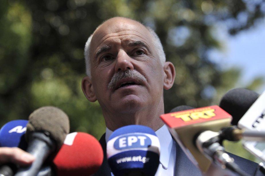 Georges Papandréou... (Photo AFP)