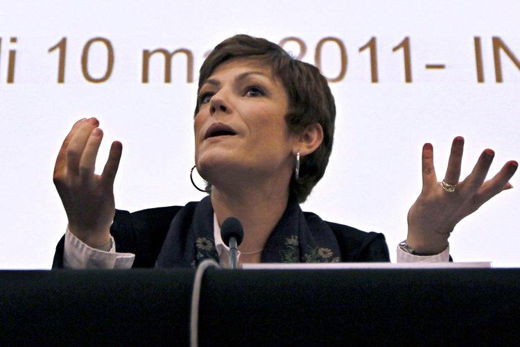 La ministre française des sports, Chantal Jouanno, a... (Photo: Reuters)