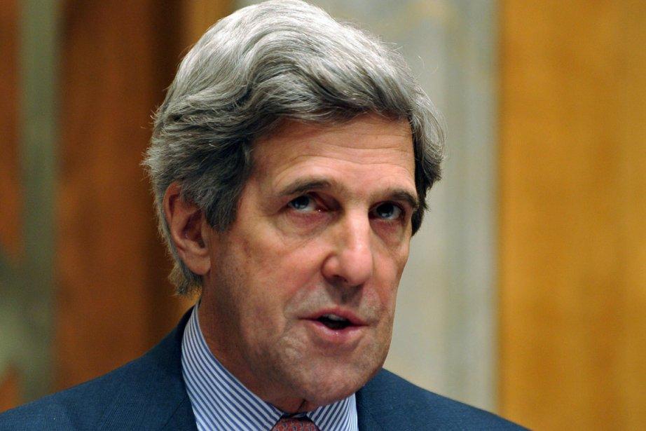 John Kerry, président démocrate de la commission des... (Photo: Jewel Samad, AFP)