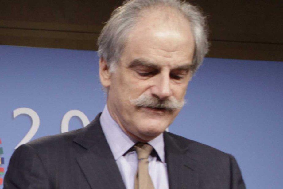 John Lipsky... (Photo Reuters)
