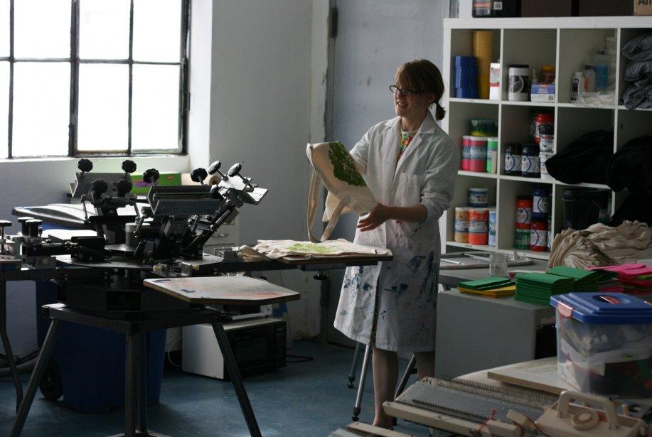 Etsy dispose d'un atelier à l'intérieur de ses... (Photo fournie par Etsy)