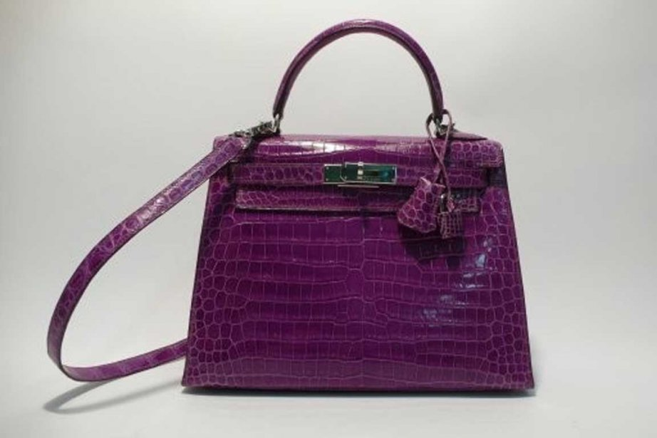 Le modèle «Kelly» est le sac mythique d'Hermès.... (Photo fournie par Artcurial)