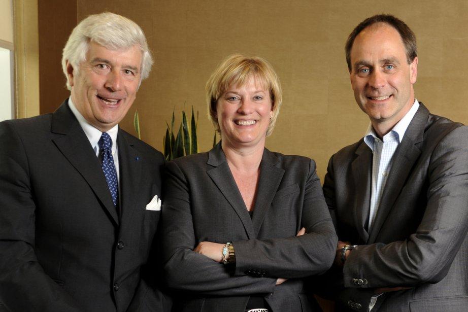 André Ryan (à droite) est l'instigateur de la... (Photo Bernard Brault, La Presse)