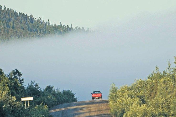 La route des grands barrages est une «trotte»... (Photo: Ivanoh Demers, archives La Presse)