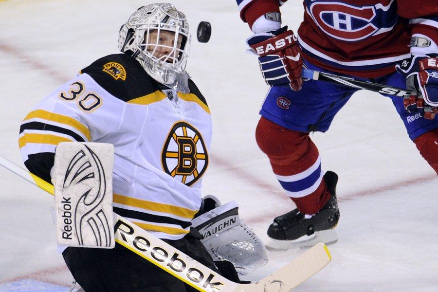 Le Canadien et les Flyers éliminés, Tim Thomas... (Photo: Bernard Brault, La Presse)