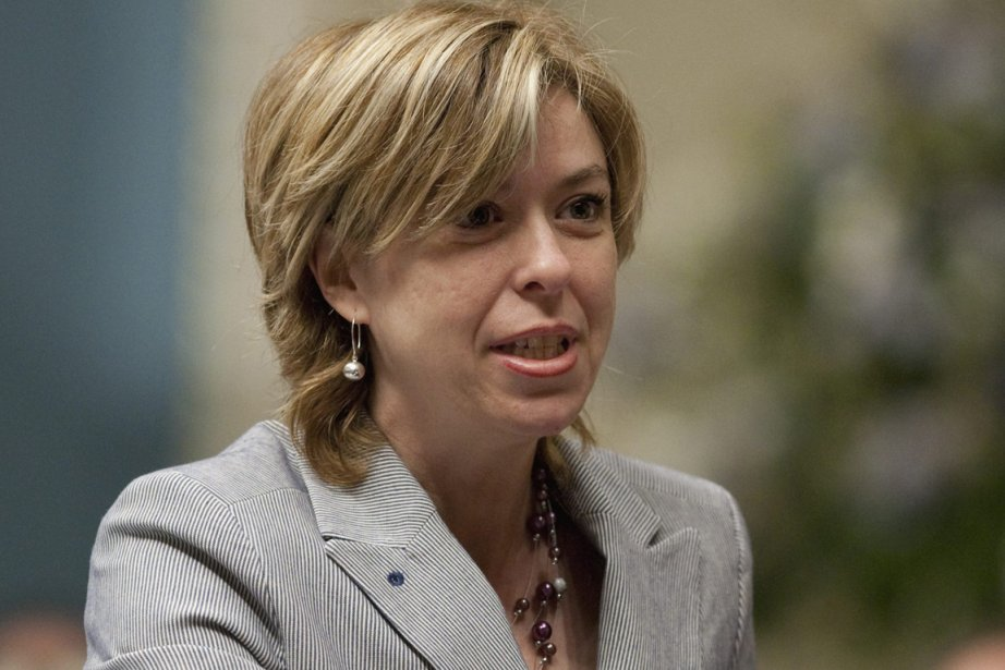 La ministre déléguée aux Services sociaux, Dominique Vien.... (Photo: Jacques Boissinot, PC)
