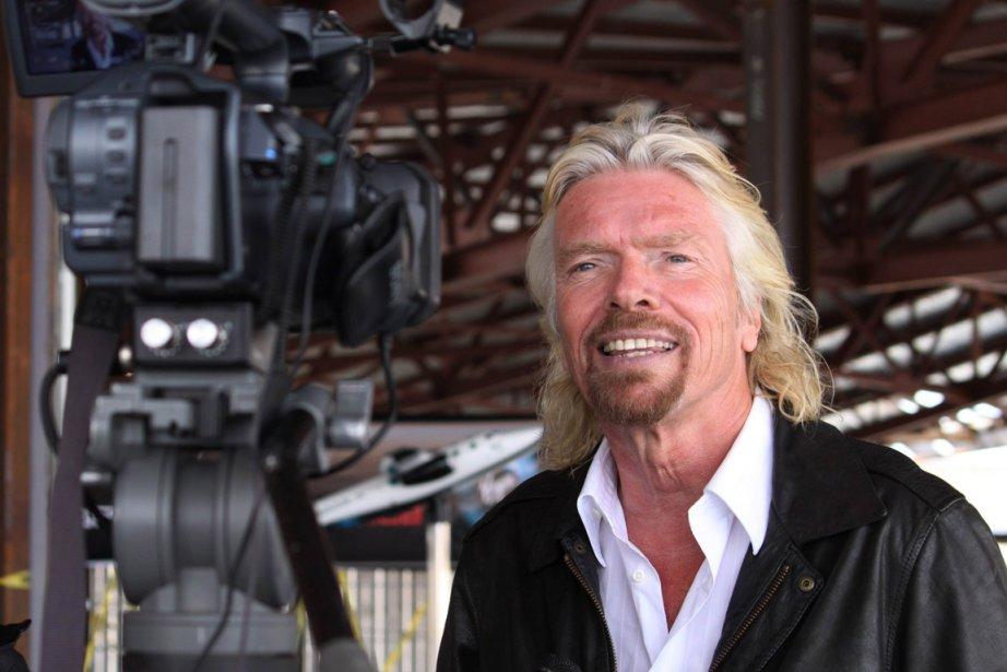 Le fondateur de Virgin Galactic Richard Branson... (Photo: AP)