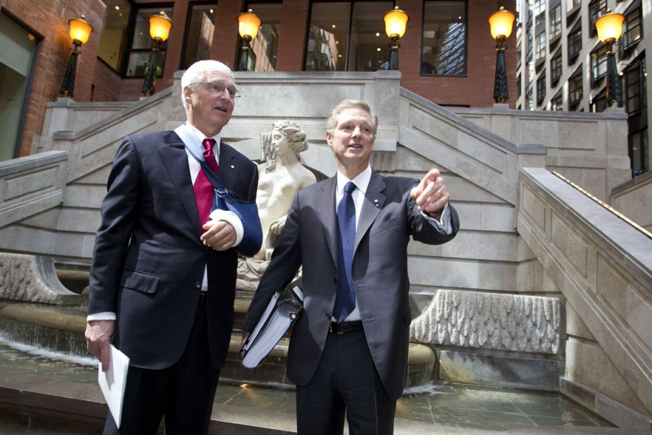 Les deux cochefs de la direction de Power... (Photo Reuters)