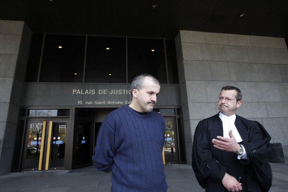 «Tout le crédit revient à mon avocat», a... (Photo: Alain Roberge, La Presse)