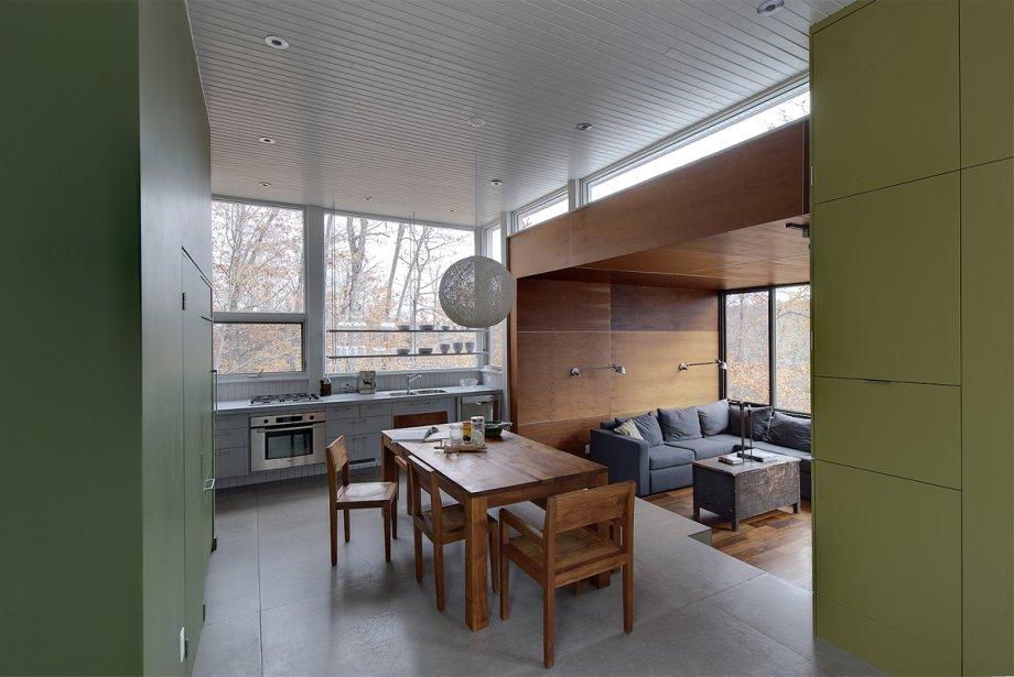 Dans cette propriété conçue par les architectes de... (Photo fournie par Philippe Saharoff)