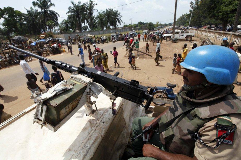 Le Conseil de sécurité des nations unies a... (Photo: Thierry Gouegnon, AFP)