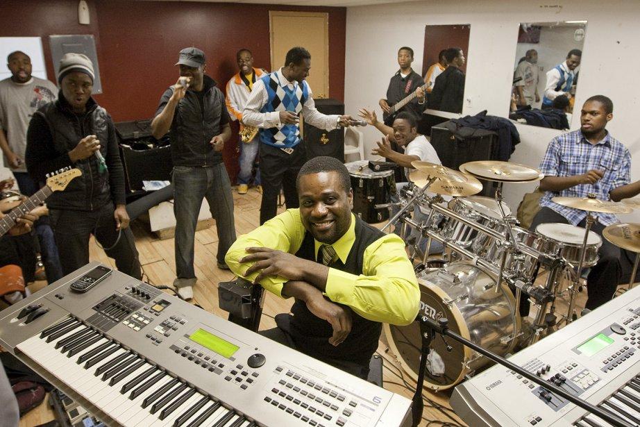 Depuis qu'il met sa musique au service du... (Photo: Hugo-Sébastien Aubert, La Presse)