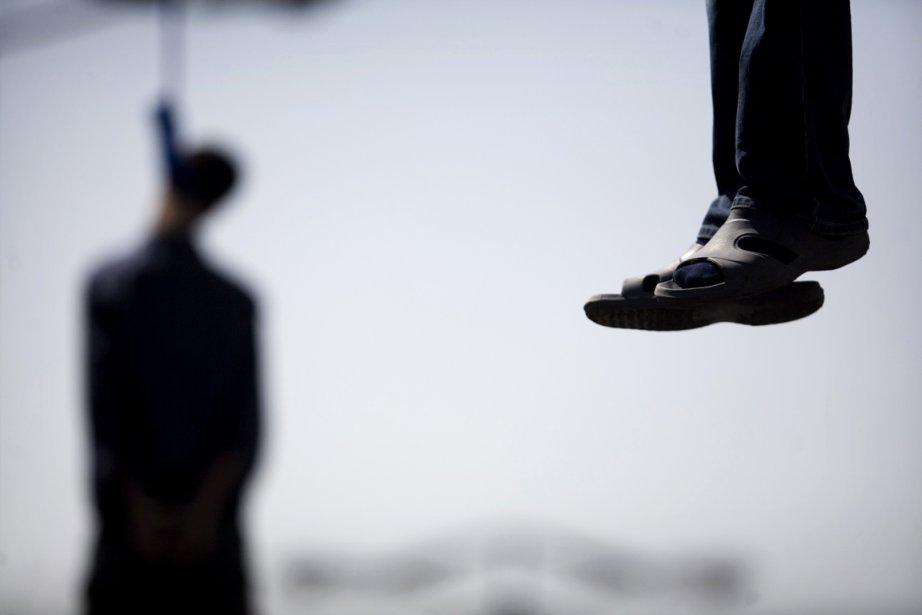 Sept hommes ont été pendus en Iran samedi pour trafic... (Photo archives Reuters)