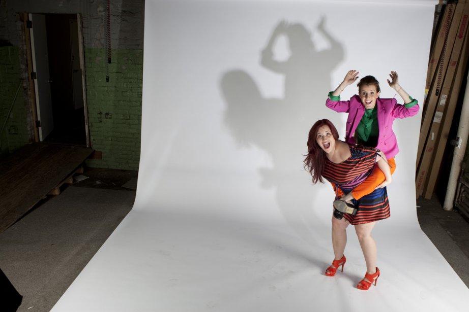 Robby Hoffman et Mélanie Couture... (Photo: Ivanoh Demers, La Presse)