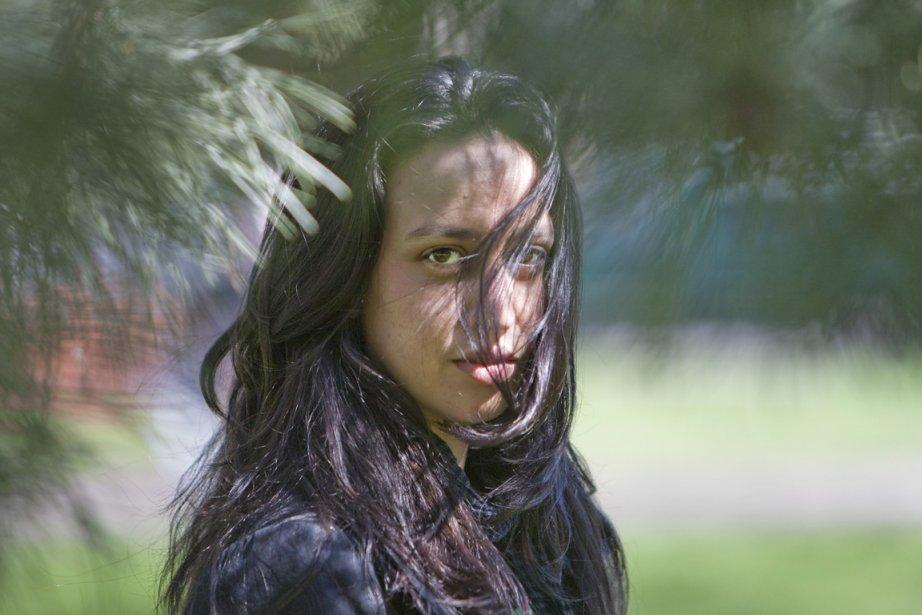 Alecka lance son premier disque, de sa voix... (Photo: Ivanoh Demers, La Presse)