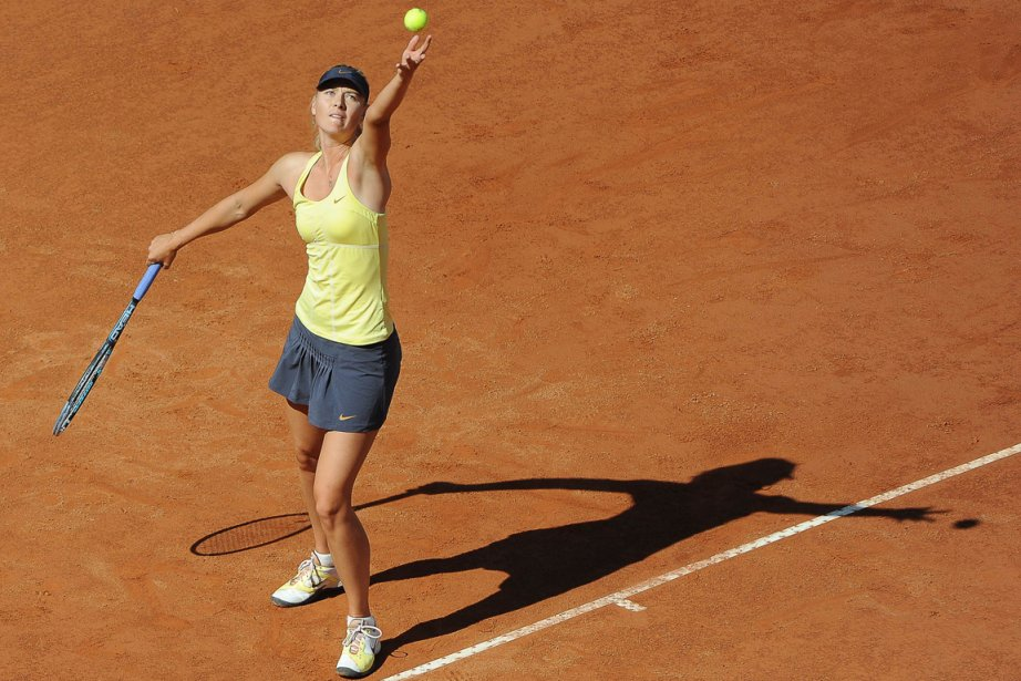 Maria Sharapova (ci-dessus) a eu raison de Caroline... (Photo: Andreas Solaro, AFP)