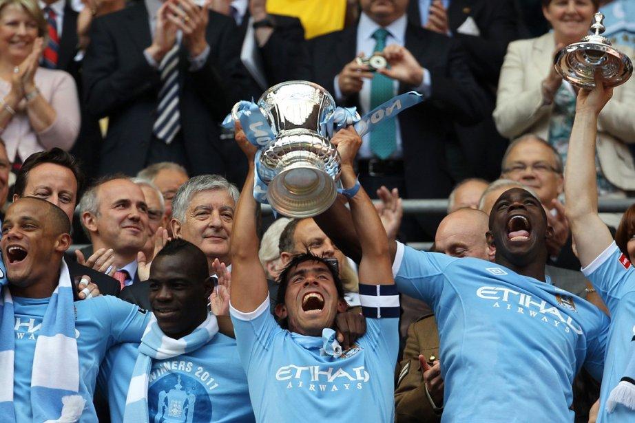 Manchester City avait connu son âge d'or au... (Photo: Adrian Dennis, AFP)