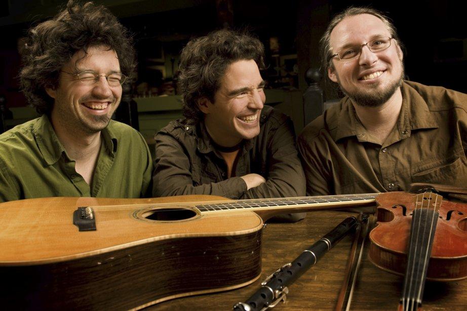 Le groupe Genticorum: Yann Falquet, Alexandre de Grosbois-Garand... (Photo fournie par La Grande Rencontre)