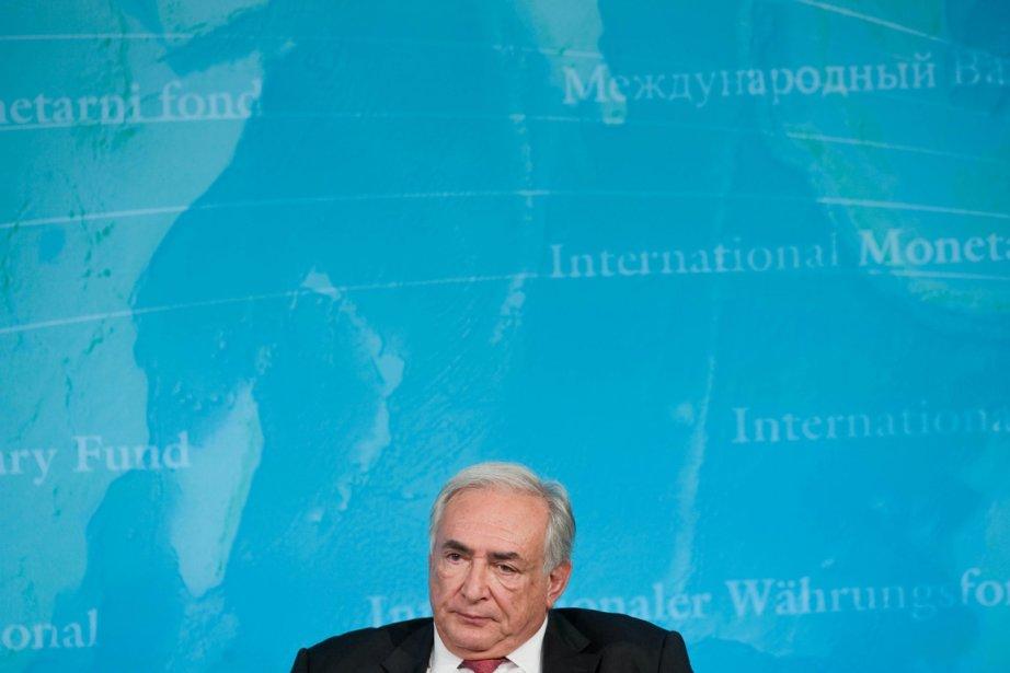 Le grand patron du FMI Dominique Strauss-Kahn.... (Photo: Nicholas Kamm, Archives AFP)