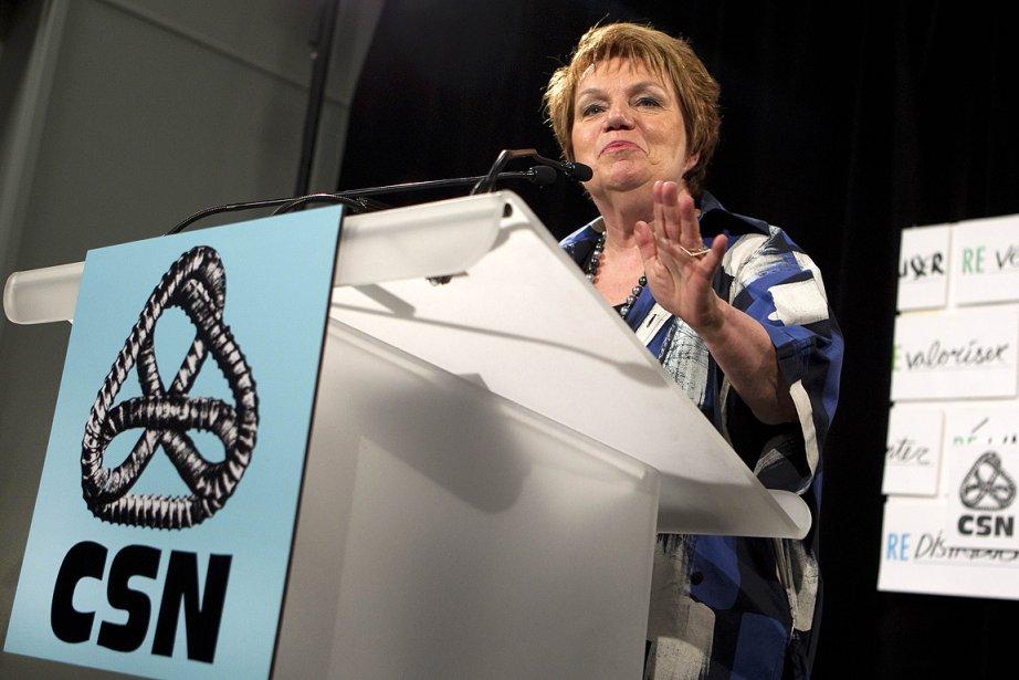 Claudette Carbonneau a présidé dimanche pour la dernière... (Photo: Robert Skinner, La Presse)