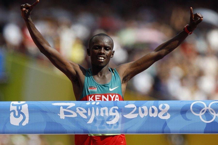 Samuel Wanjiru a remporté l'or au marathon, à... (Photo: Reuters)