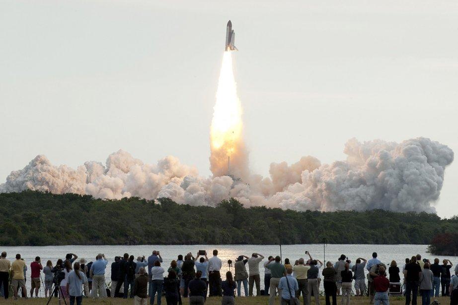 La navette Endeavour a été lancée pour la... (Photo: AFP)