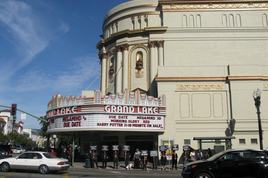 Le cinéma Grand Lake est charmant, avec sa... (Photo: Émilie Côté, La Presse)