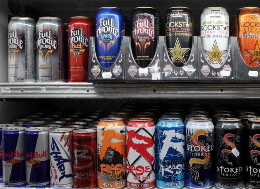 Les boissons énergisantes contiennent d'abord et avant tout... (Photothèque La Presse)