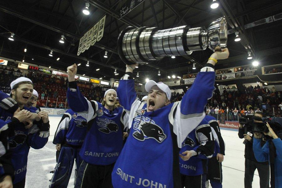 Les Sea Dogs de Saint John ont remporté... (Photo: Martin Roy, Le Droit)