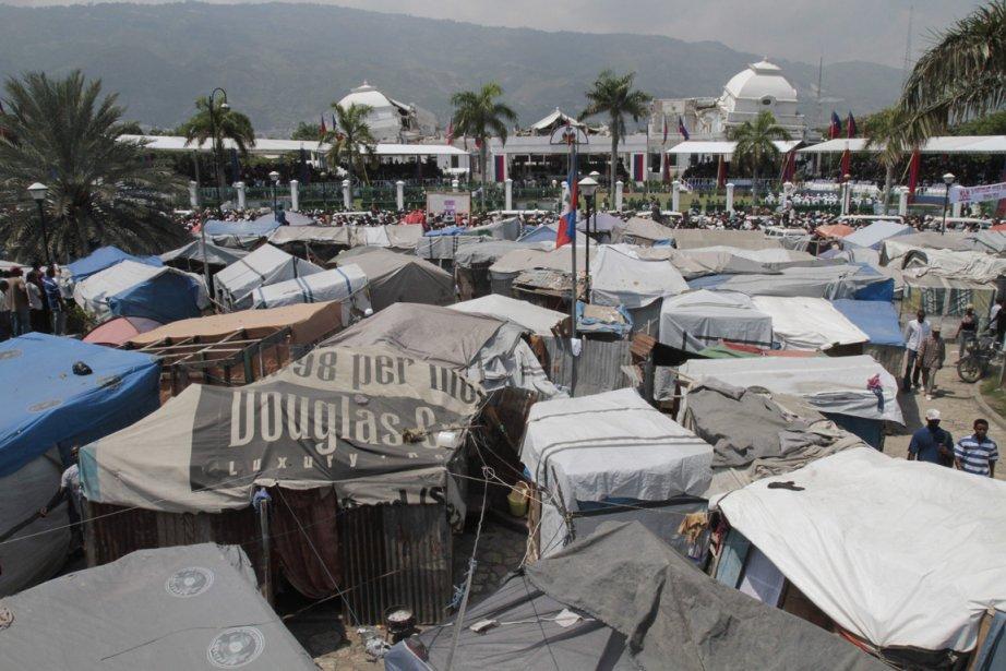 Près de 1,5 million de personnes ont été... (Photo: Dieu Nalio Chery, AP)