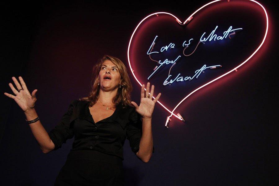 L'artiste britannique Tracey Emin... (Photo: Reuters)