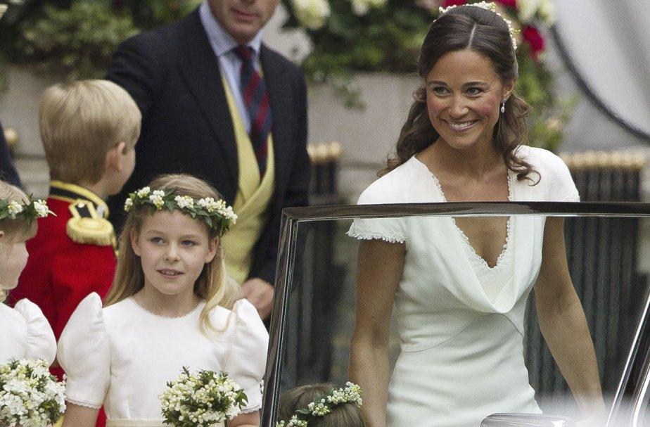 Le visage de Philippa Middleton (à droite) a... (Photo: AFP)