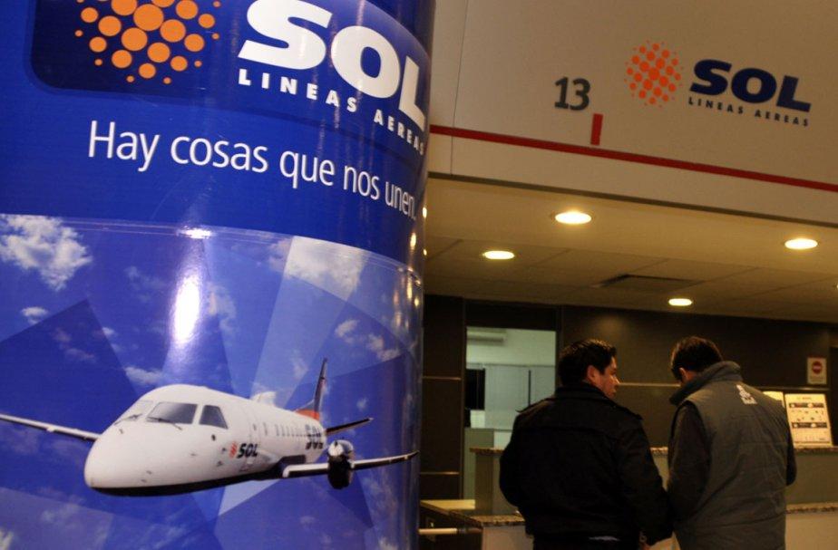Un avion de la compagnie privée argentine Sol s'est écrasé... (Photo: Reuters)