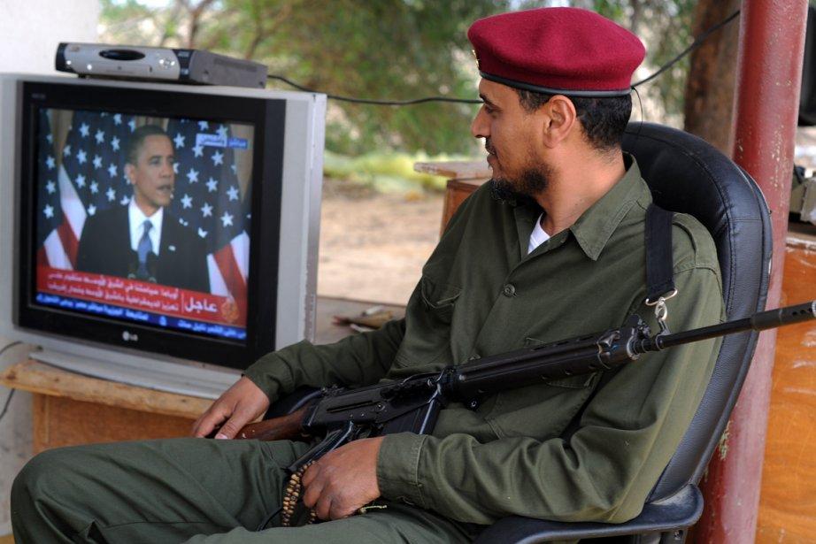 Le discours de Barack Obama a suscité l'intérêt... (Photo: Saeed Khan, AFP)