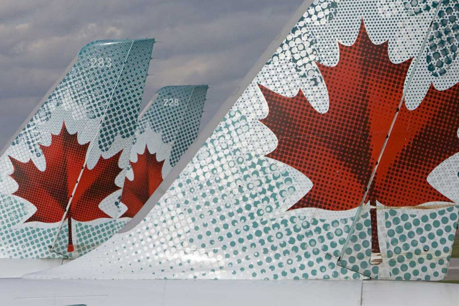 Bien qu'Air Canada soit assujetti à la Loi... (Photo: David Boily, Archives La Presse)