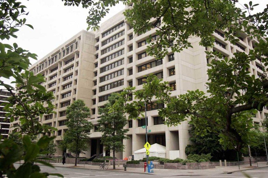 Les bureaux du FMI à Washington.... (Photo AFP)