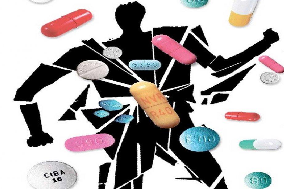 La consommation de drogue et de tabac baisse presque... (Infographie La Presse)