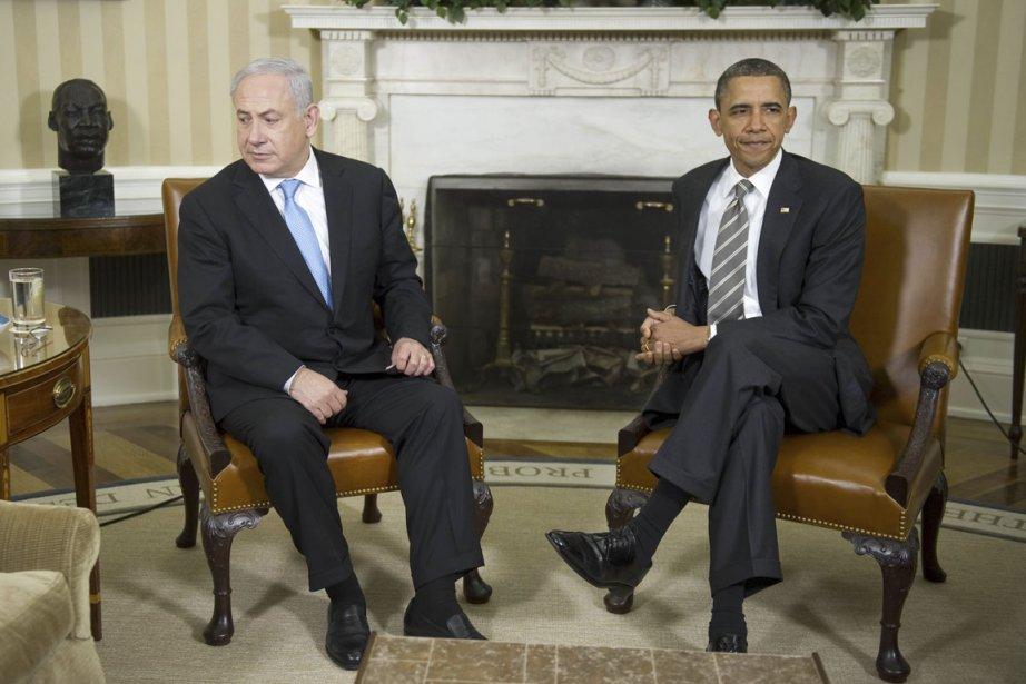Barack Obama ne s'est pas offusqué publiquement des... (Photo: Jim Watson, AFP)