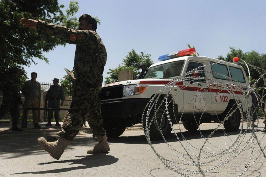 L'hôpital militaire de Kaboul est censé être une... (Photo: AFP)
