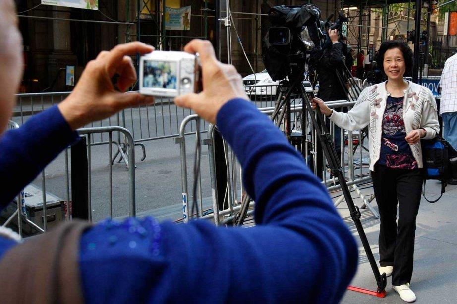 Le cirque médiatique entourant l'affaire Strauss-Khan attire les... (Photo Reuters)
