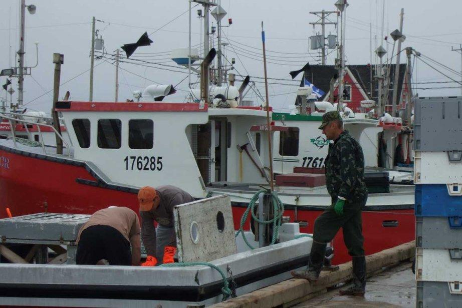 Deux indidents ont perturbé la journée de pêche aux... (Photo archives La Presse)
