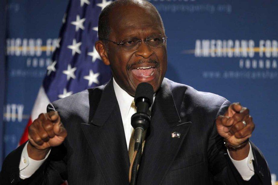 Herman Cain... (Photo Reuters)