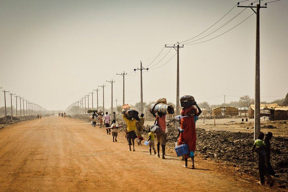 La ville d'Abyei connaît une recrudescence des violences... (Photo: AFP, ENOUGH PROJECT, TIM FRECCIA)