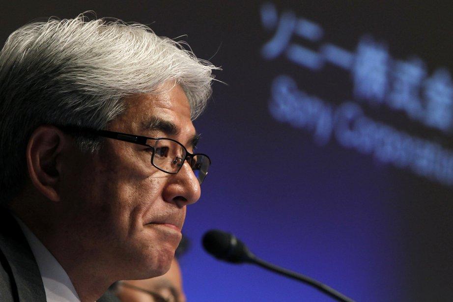 Le directeur financier de Sony, Masaru Kato, annonce... (Photo: Reuters)