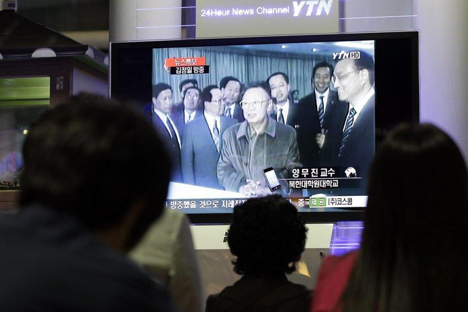 La visite de Kim Jong-Il en Chine illustre... (Photo: AP)