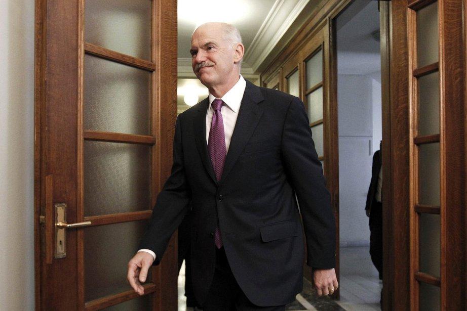 Le premier ministre Georges Papandréou.... (Photo: Reuters)