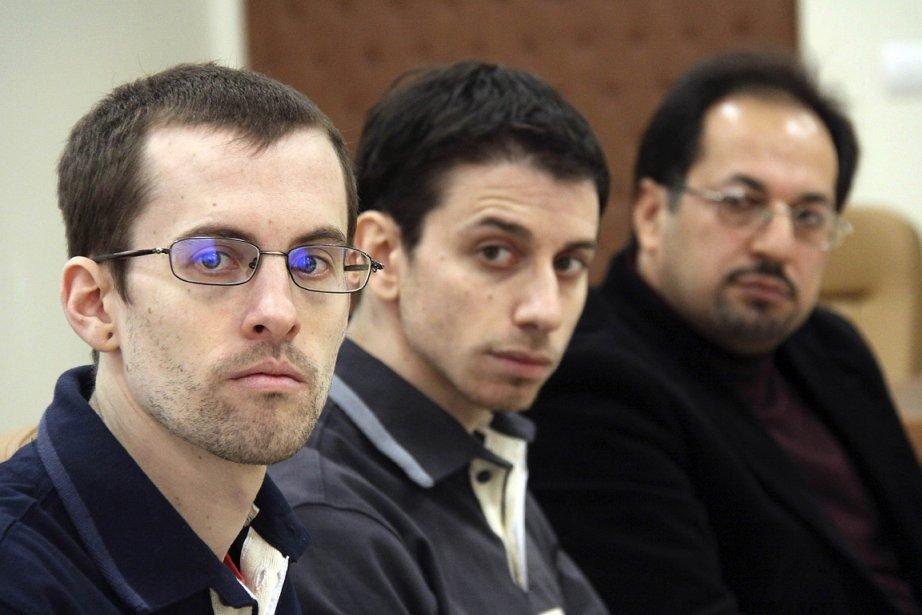 Shane Bauer (à gauche) et Josh Fattal (au... (AFP)