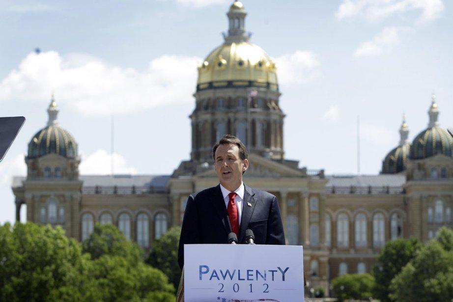 Tim Pawlenty, ancien gouverneur du Minnesota, lors de... (Photo AP)