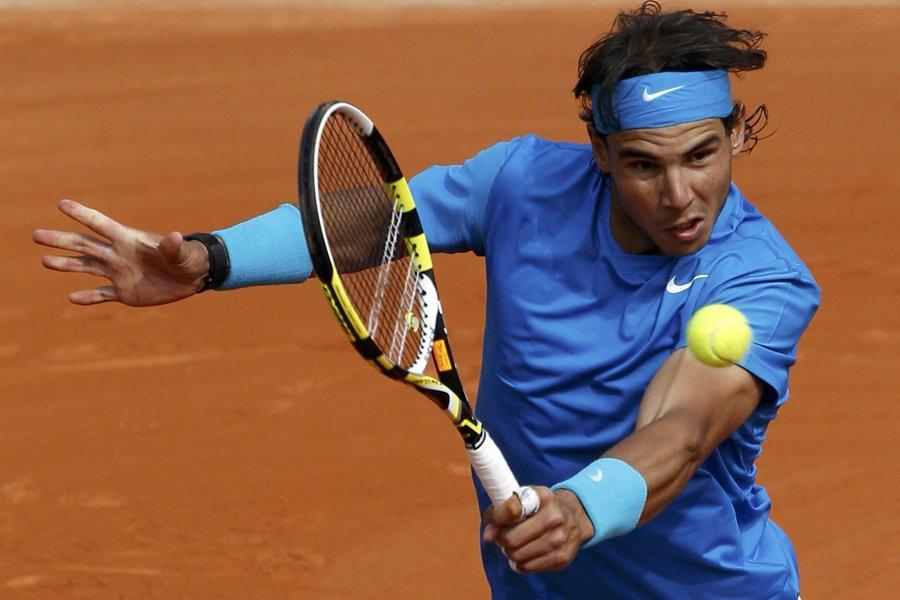 Déjà  cinq fois vainqueur à Paris, Nadal... (Photo: Reuters)